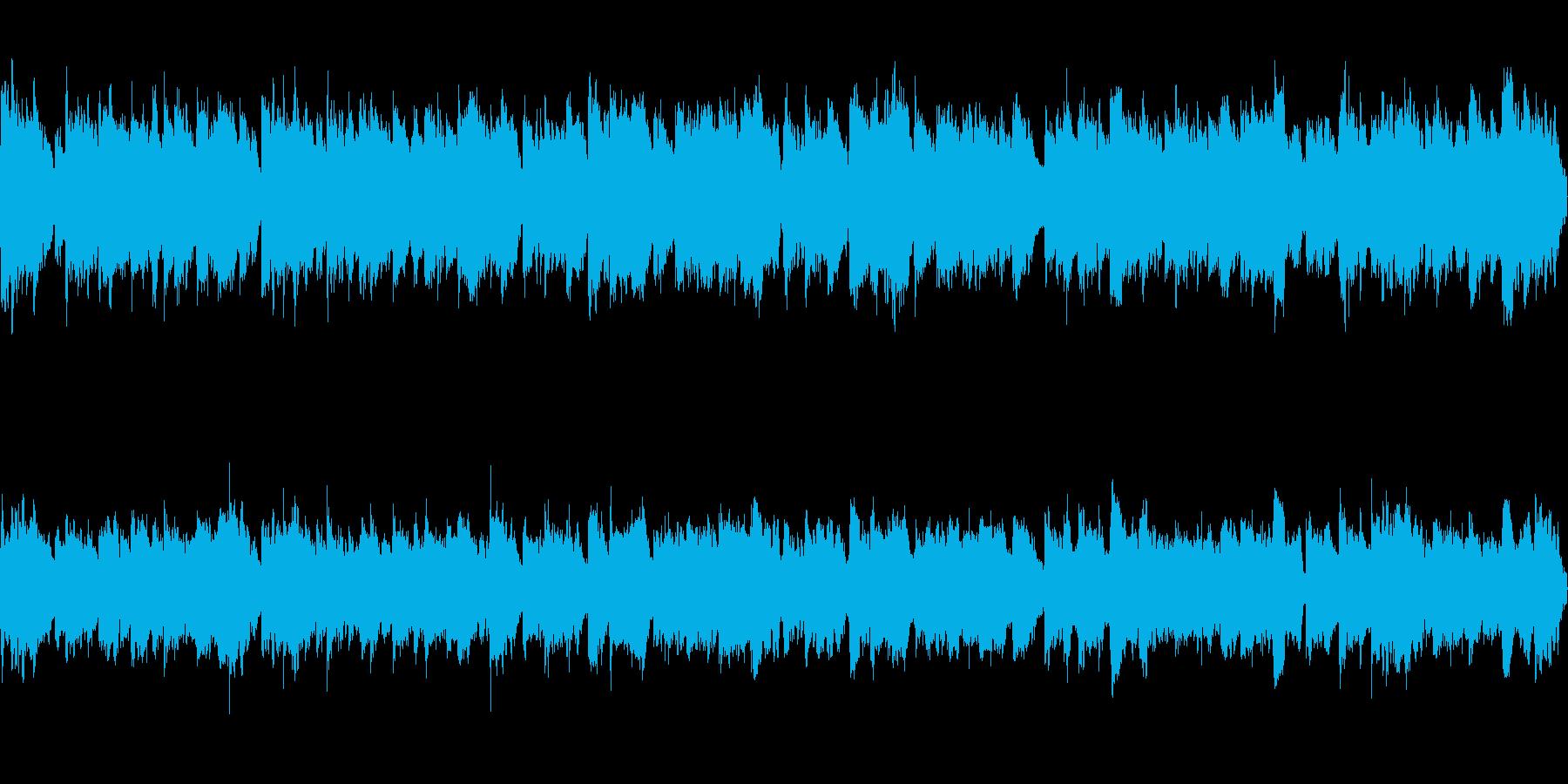 のんびりした雰囲気のループ曲です。の再生済みの波形