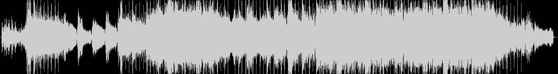 ピアノとバイオリンの感動バラードの未再生の波形