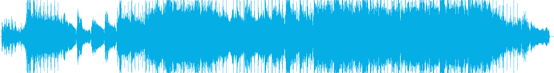 ピアノとバイオリンの感動バラードの再生済みの波形