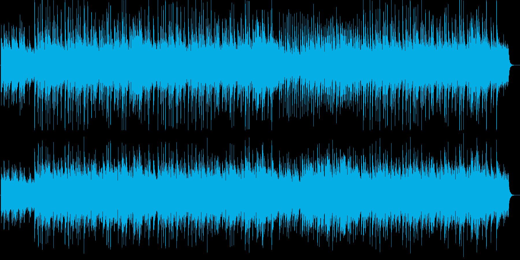 清らかで優しいイメージのピアノ曲の再生済みの波形