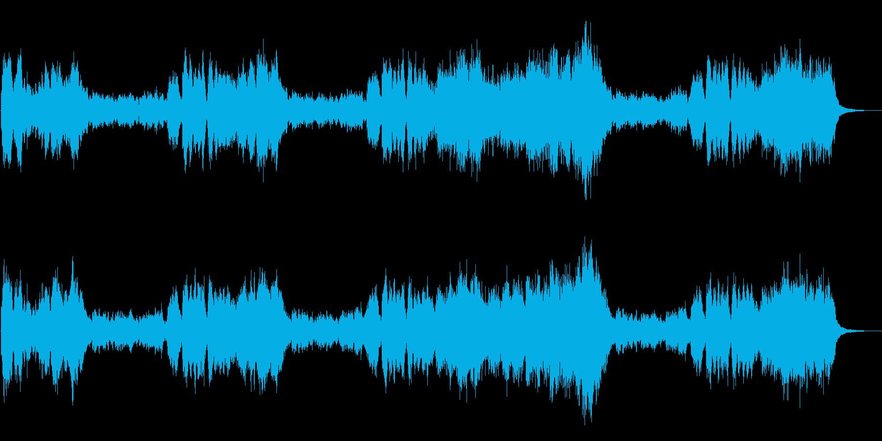 勝利をイメージした交響曲、式典などに最適の再生済みの波形