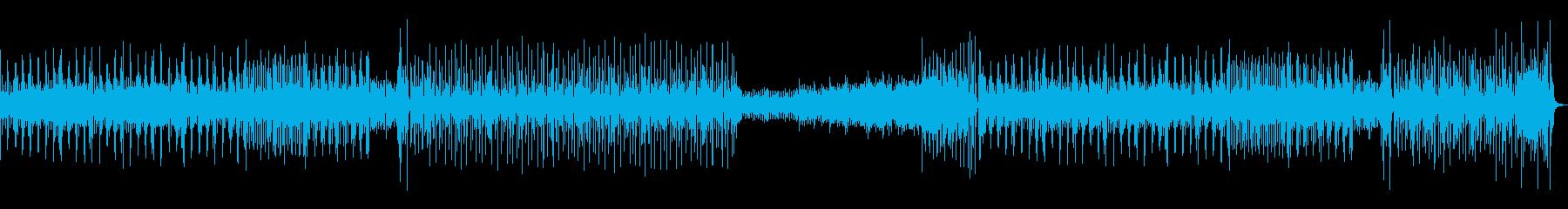 汎用性のある、ほんわかした楽しい曲の再生済みの波形