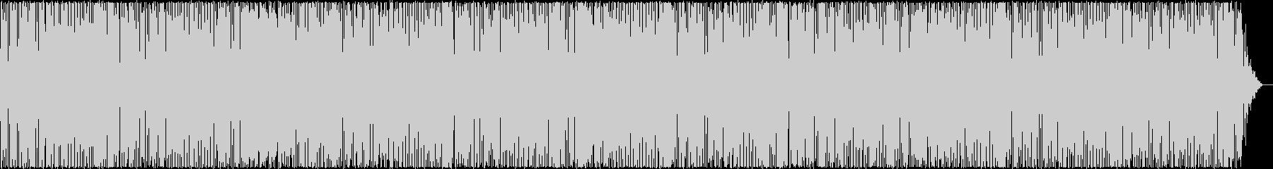 リズミカルで心が弾むBGMの未再生の波形