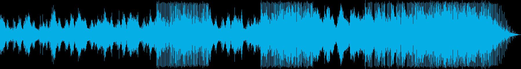 深い洞窟のアンビエントエレクトロニカの再生済みの波形