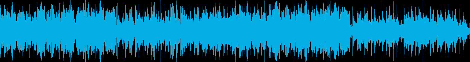 北欧の街並み・爽やかな民族音楽・ループ版の再生済みの波形