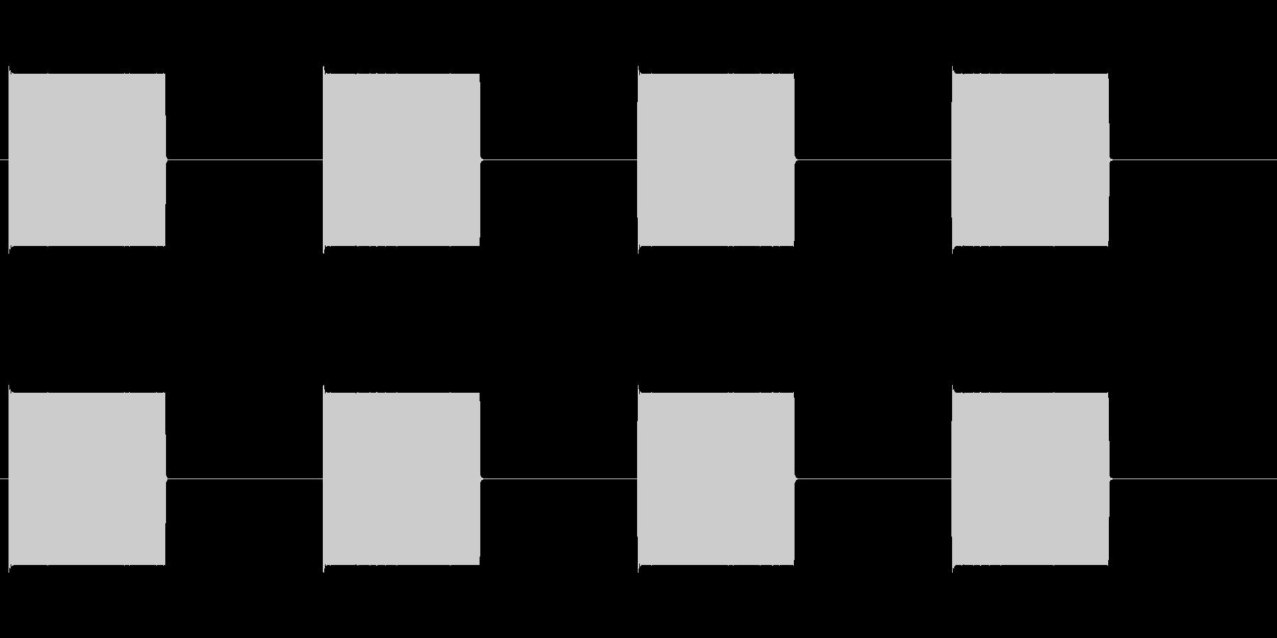 プーx4(電話の話し中)の未再生の波形