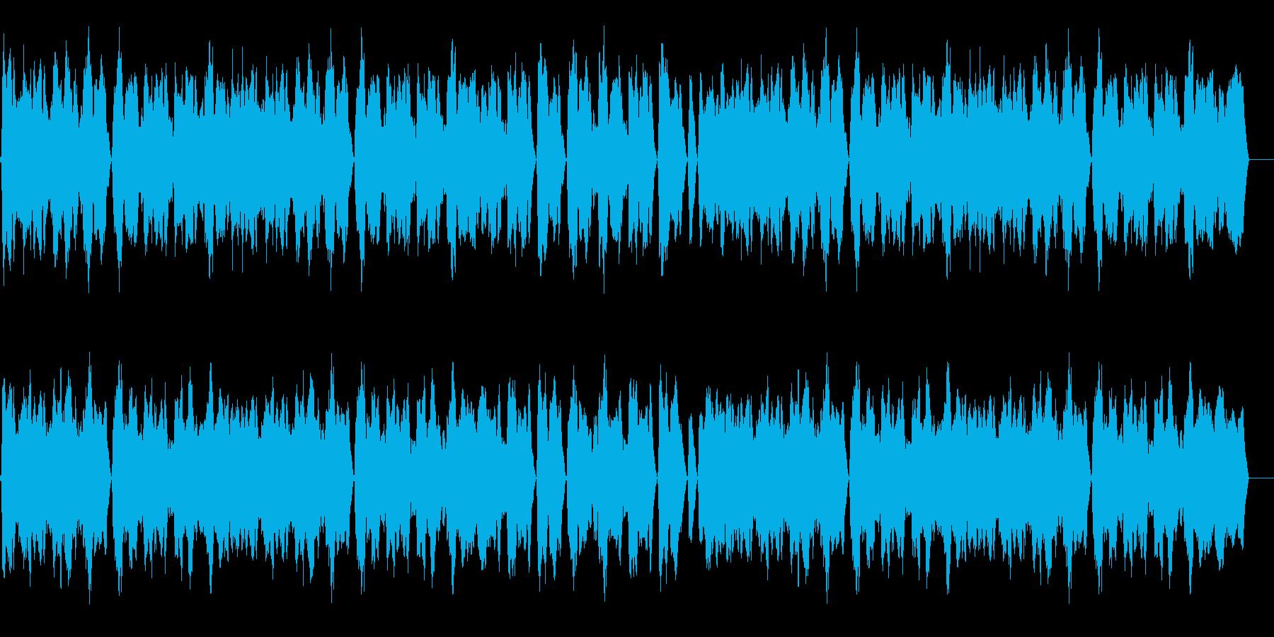 胡散臭い怪しい人物のためのBGMの再生済みの波形