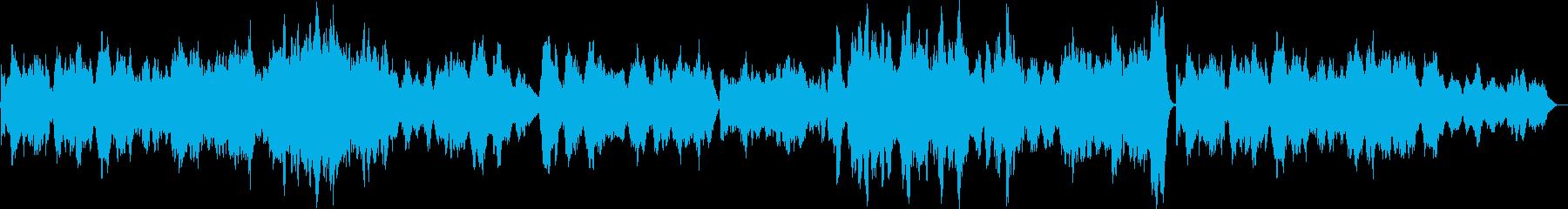 悲劇的な弦楽四重奏の再生済みの波形