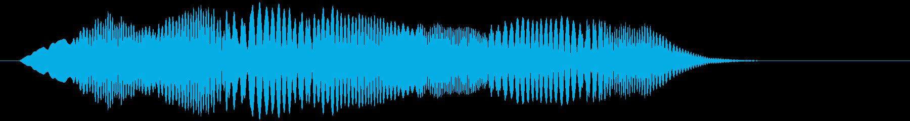 ヒヨヒヨ(コミカル・混乱・ゲームオーバ)の再生済みの波形