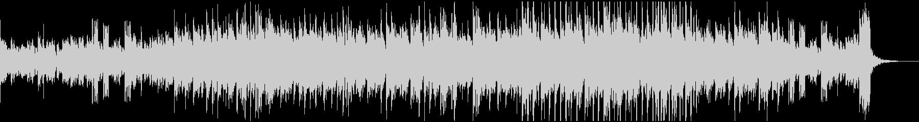 D&B系の短めインストの未再生の波形