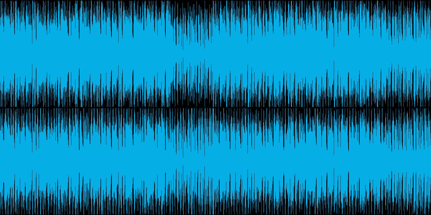 ほのぼのとした雰囲気のポップス ループ可の再生済みの波形