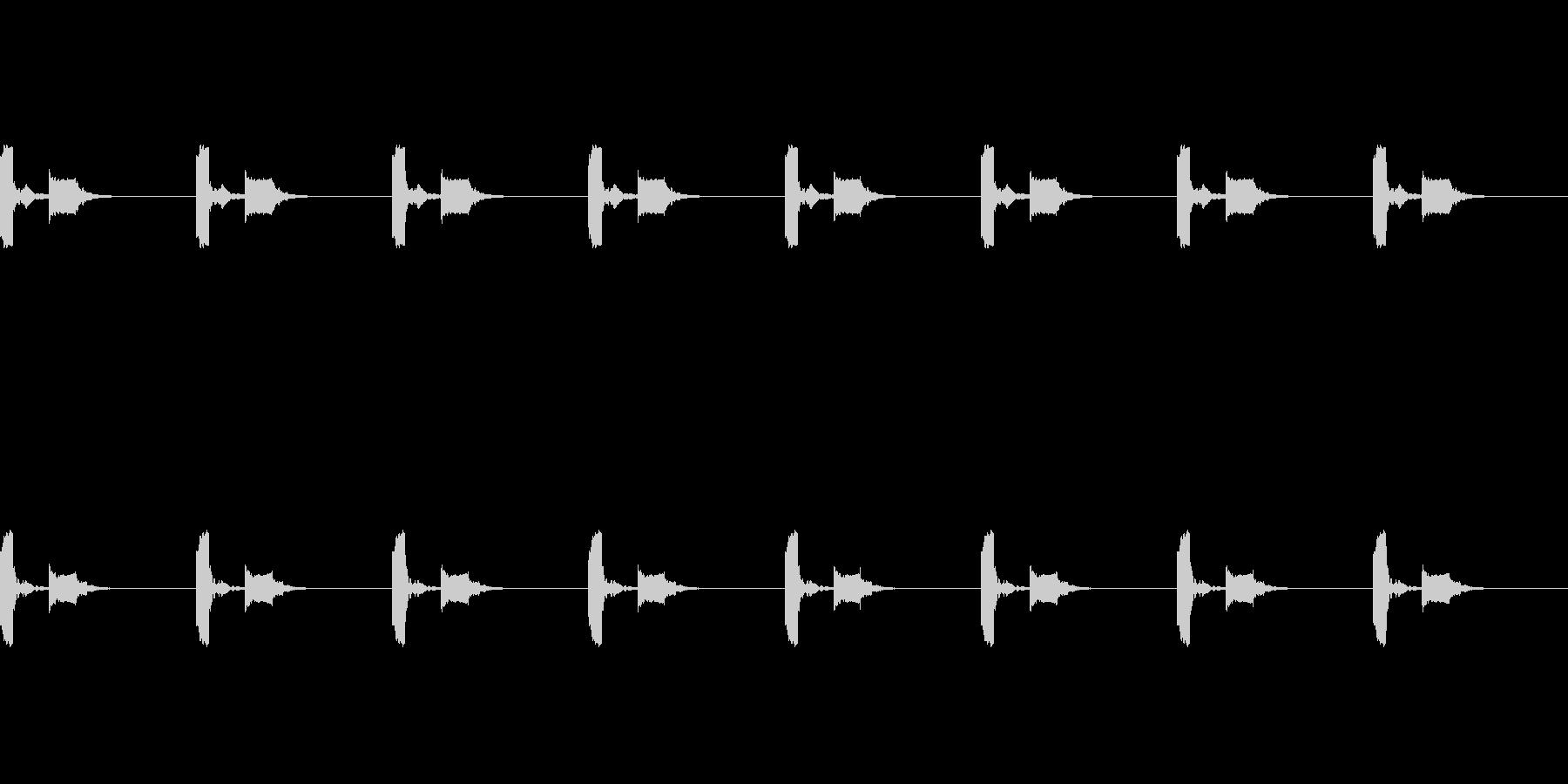 【誘導音 横断歩道01-2L】の未再生の波形