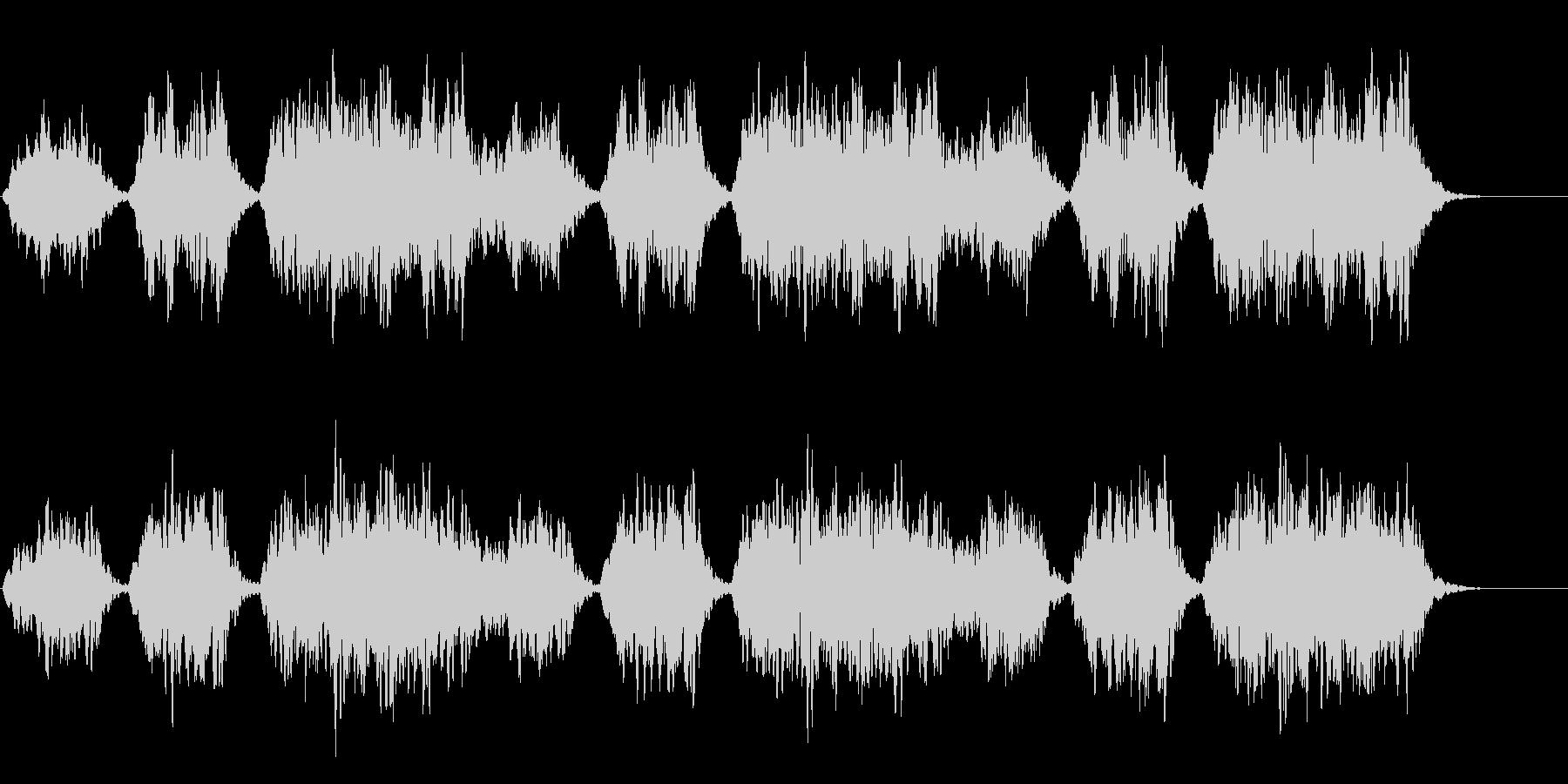 映像向けのパッド系BGMの未再生の波形
