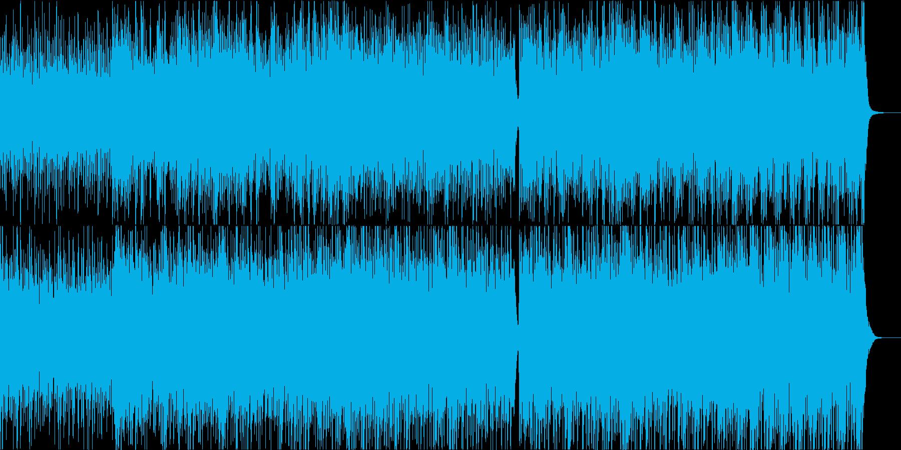 【リズム抜き】力強い弦楽器。CMやドキュの再生済みの波形