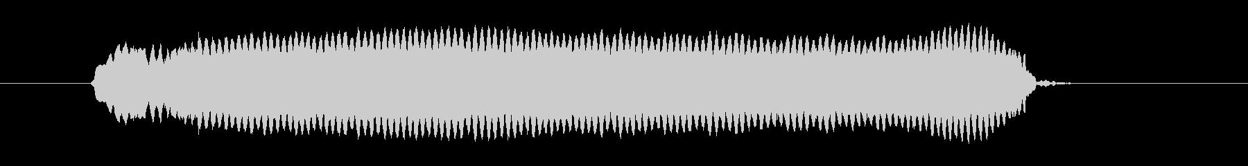 ピーッ!◆ホイッスル/競技、交通整理の笛の未再生の波形