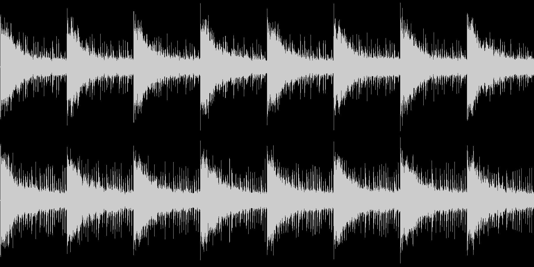 BGM002 ゲームでの洞窟や暗闇など…の未再生の波形