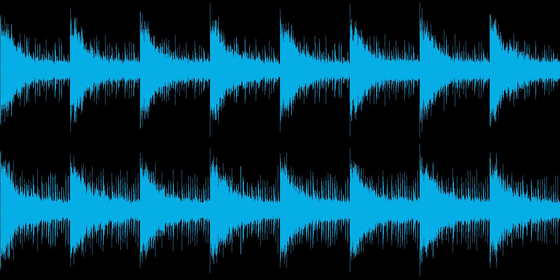 BGM002 ゲームでの洞窟や暗闇など…の再生済みの波形