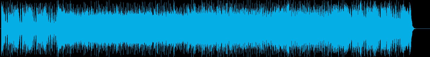 オープニングにぴったりの疾走感あるポップの再生済みの波形