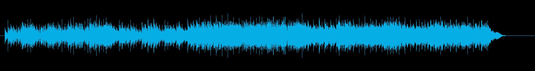 エレクトリック・ニューミュージックの再生済みの波形