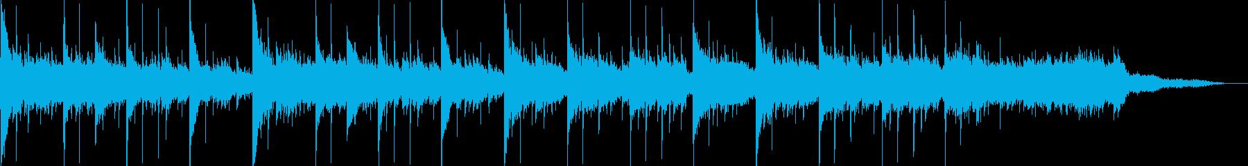 エレクトロニカ+アコーステックの再生済みの波形