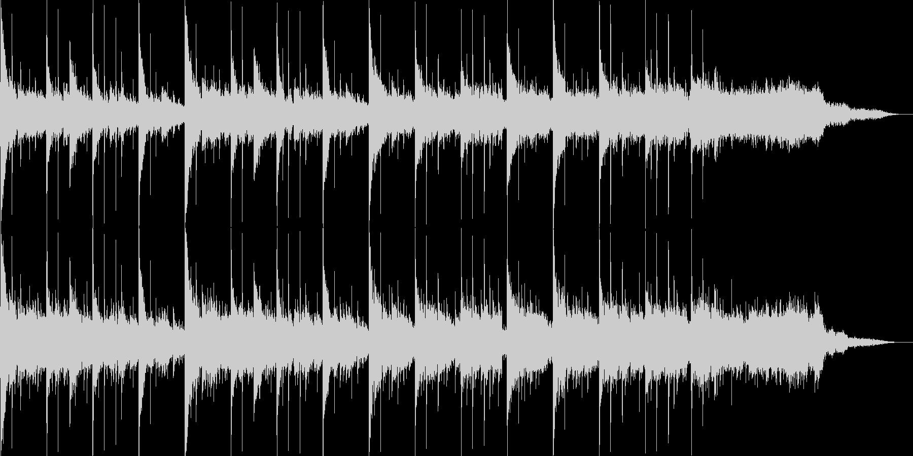 エレクトロニカ+アコーステックの未再生の波形