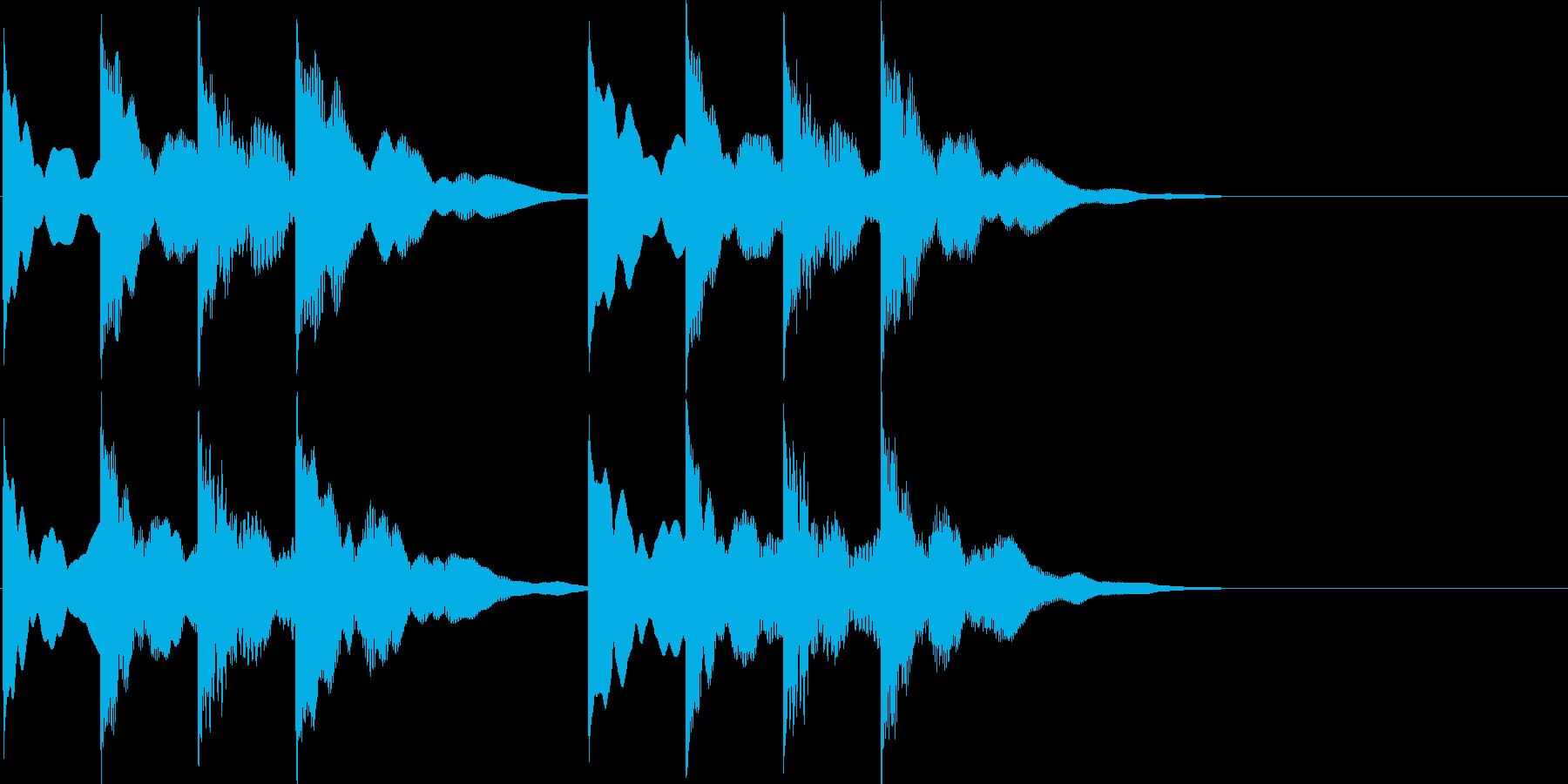 キーンコーンカーンコーン(学校チャイム…の再生済みの波形