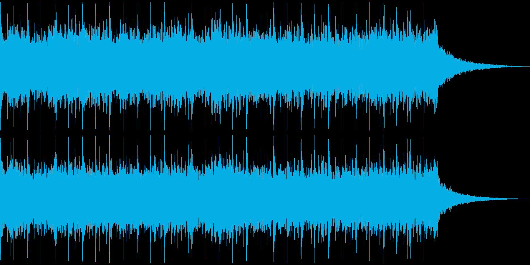 激しいラウドロック、予告、広告verCの再生済みの波形