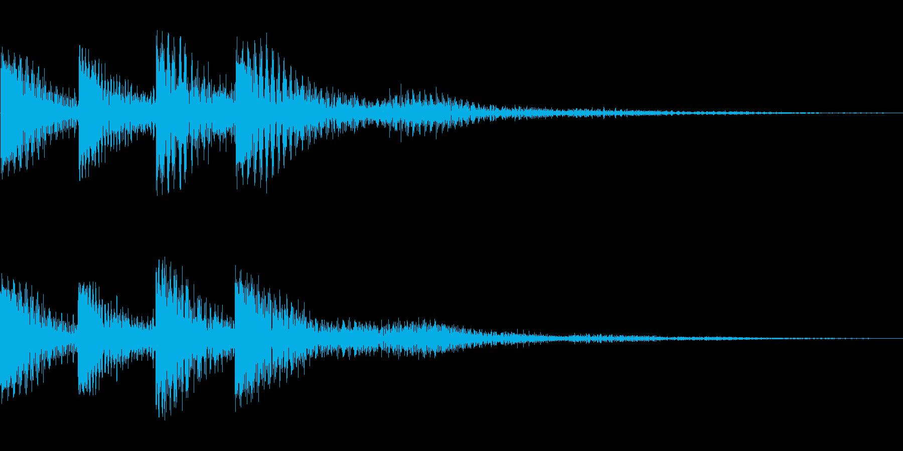 ジュワーン(クリック_選択開始_02)の再生済みの波形