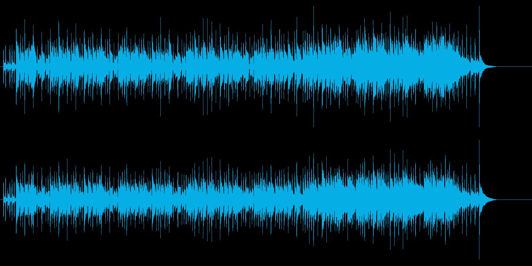 はっきりとしたニュー・ミュージックの再生済みの波形