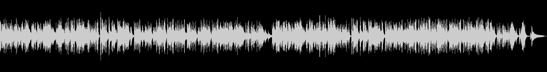ピアノソロ切ない系バラードの未再生の波形
