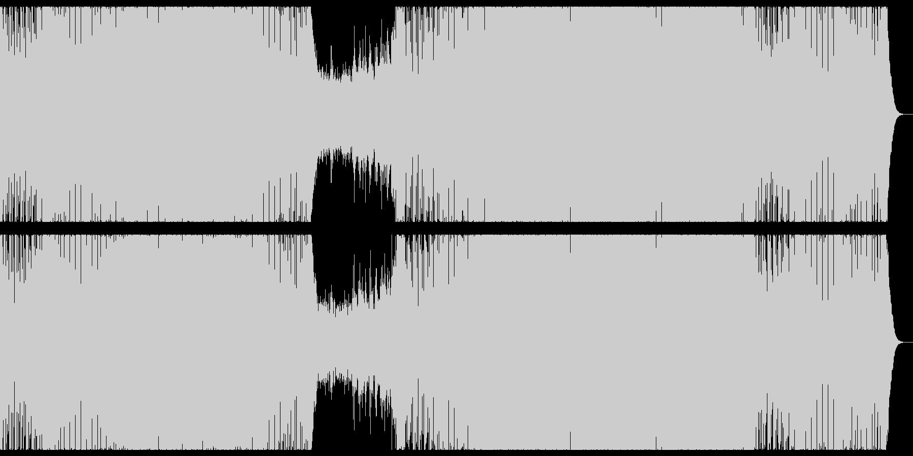 明るく感動的なプログレッシブハウス。の未再生の波形
