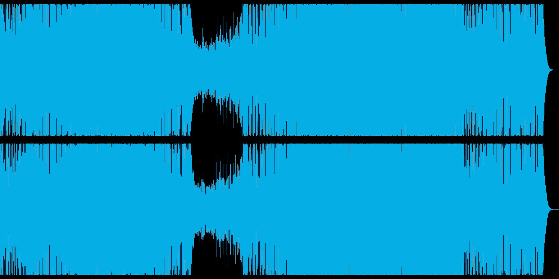 明るく感動的なプログレッシブハウス。の再生済みの波形