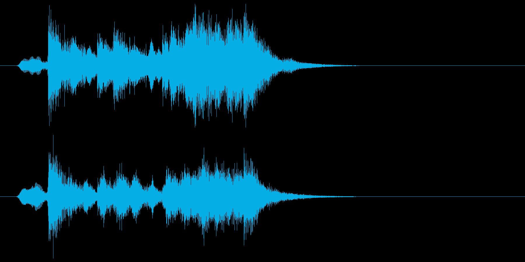 可憐でキャッチ―なポップジングルの再生済みの波形