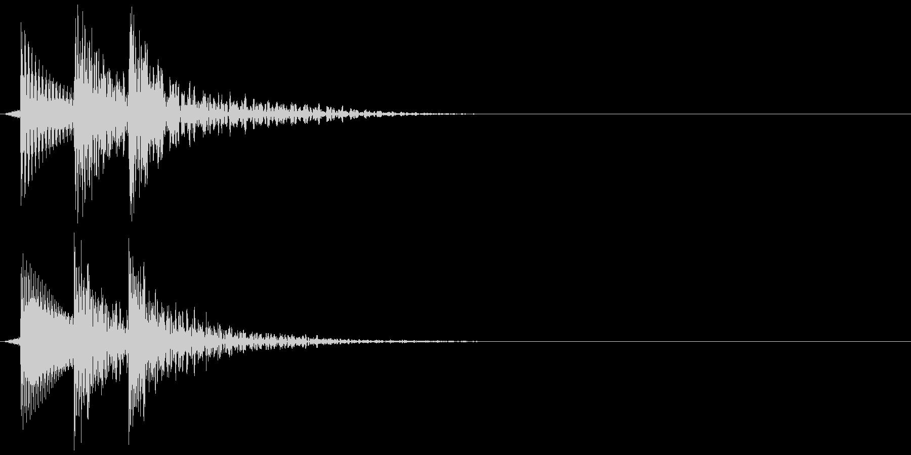 ティロン(決定、ゲーム)の未再生の波形