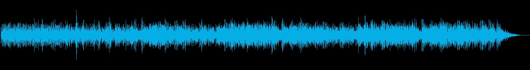 爽やかなアコースティックサウンドの再生済みの波形