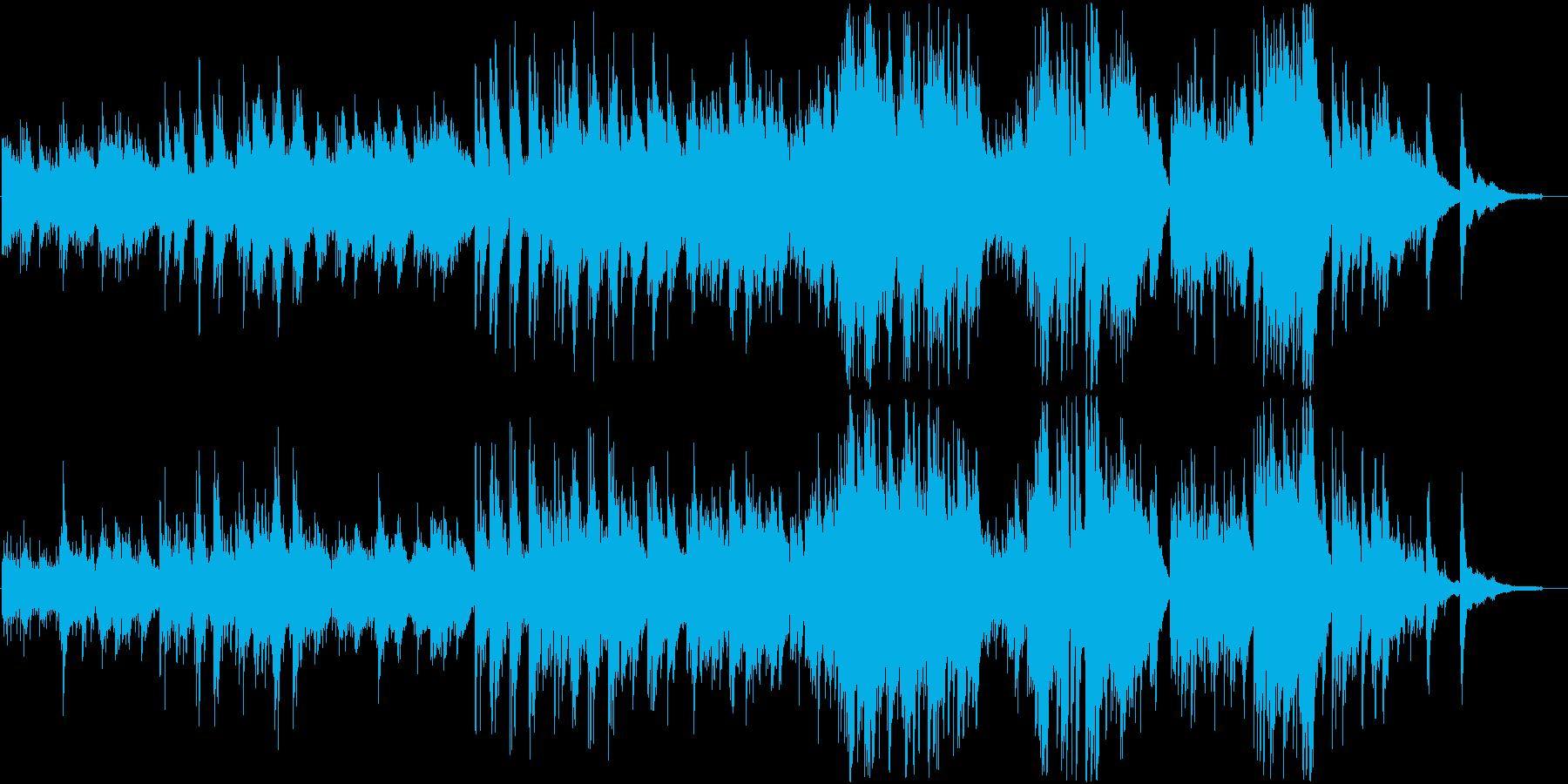 美しく幻想的な癒し系チェロとピアノの重奏の再生済みの波形