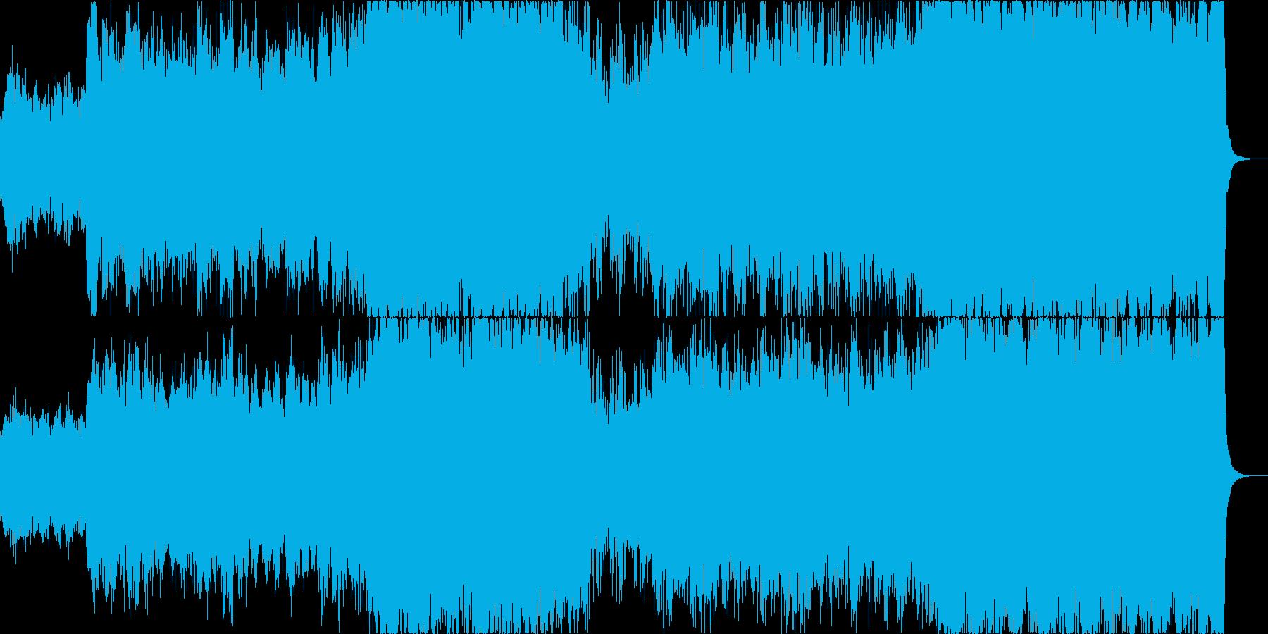 壮大なスペースファンタジーでチェロメインの再生済みの波形