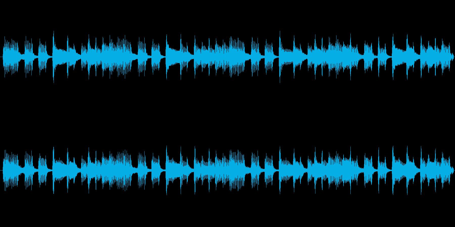 TVラジオ放送用。出囃子ピアノバイオリンの再生済みの波形