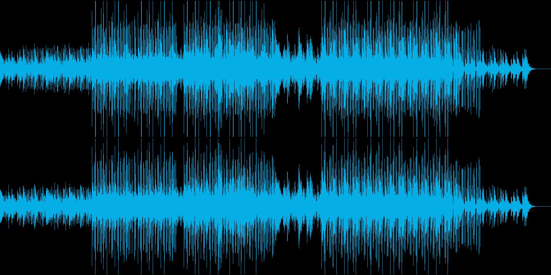 疾走感が気持ち良いエレクトロポップスの再生済みの波形