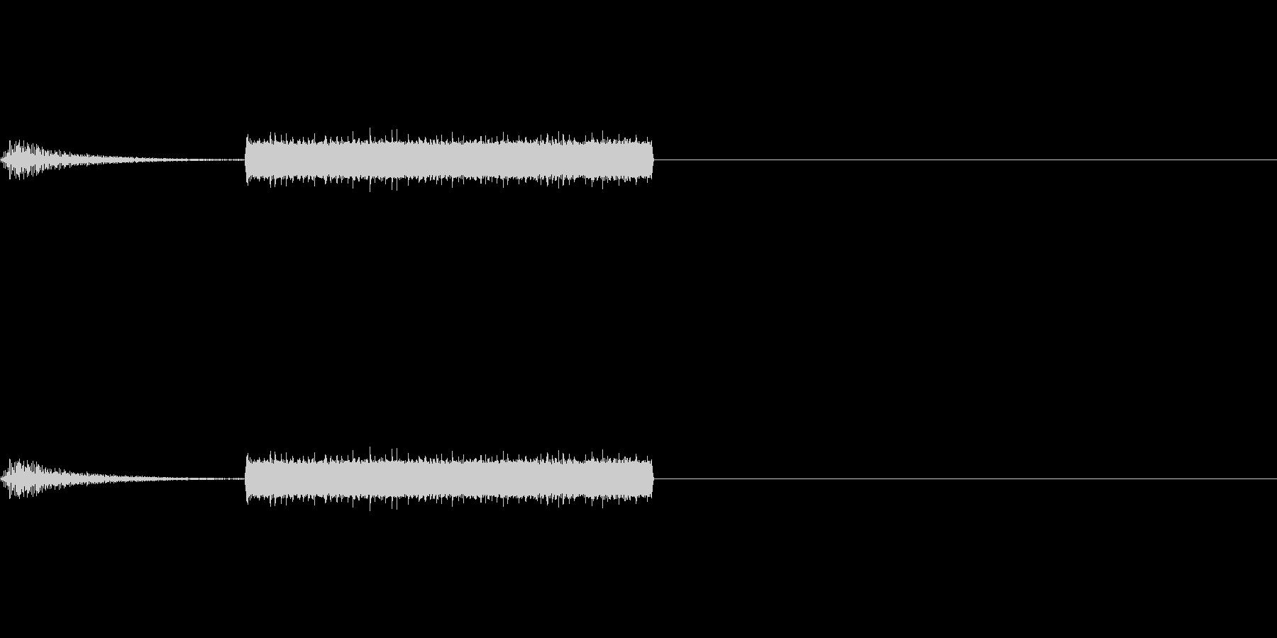 画面表示/スクリーンON/解析/デジタルの未再生の波形