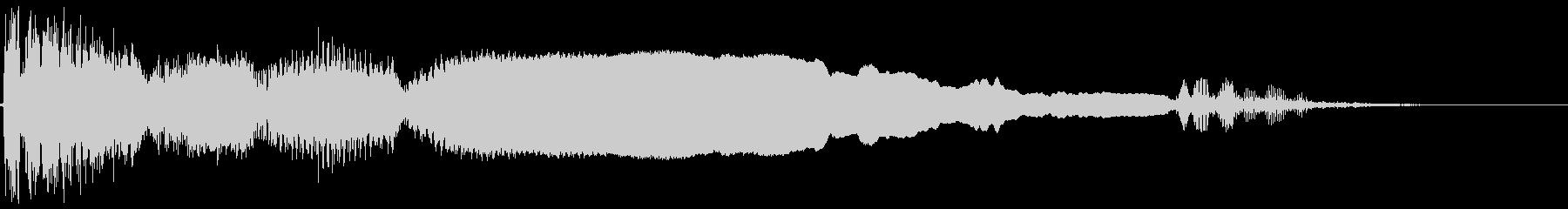 失敗時のファンファーレ2の未再生の波形