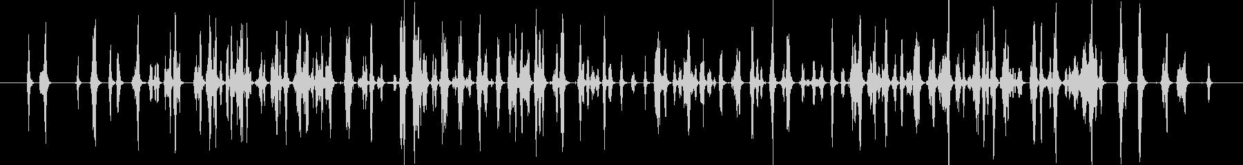 ピピッピピピッ..。小鳥の鳴き声(複数)の未再生の波形