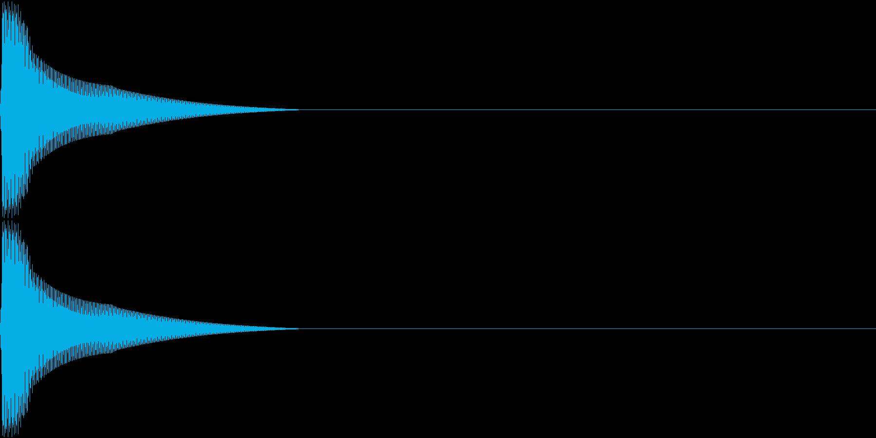 PureTouch アプリ用タッチ音 6の再生済みの波形