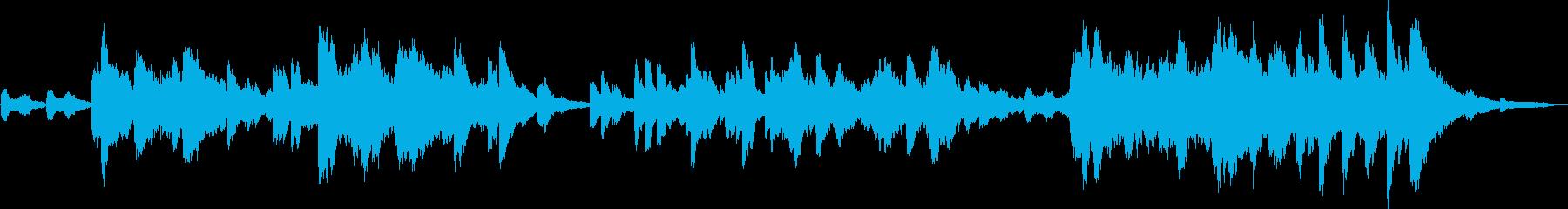オルゴールとピアノによるヒーリングの再生済みの波形