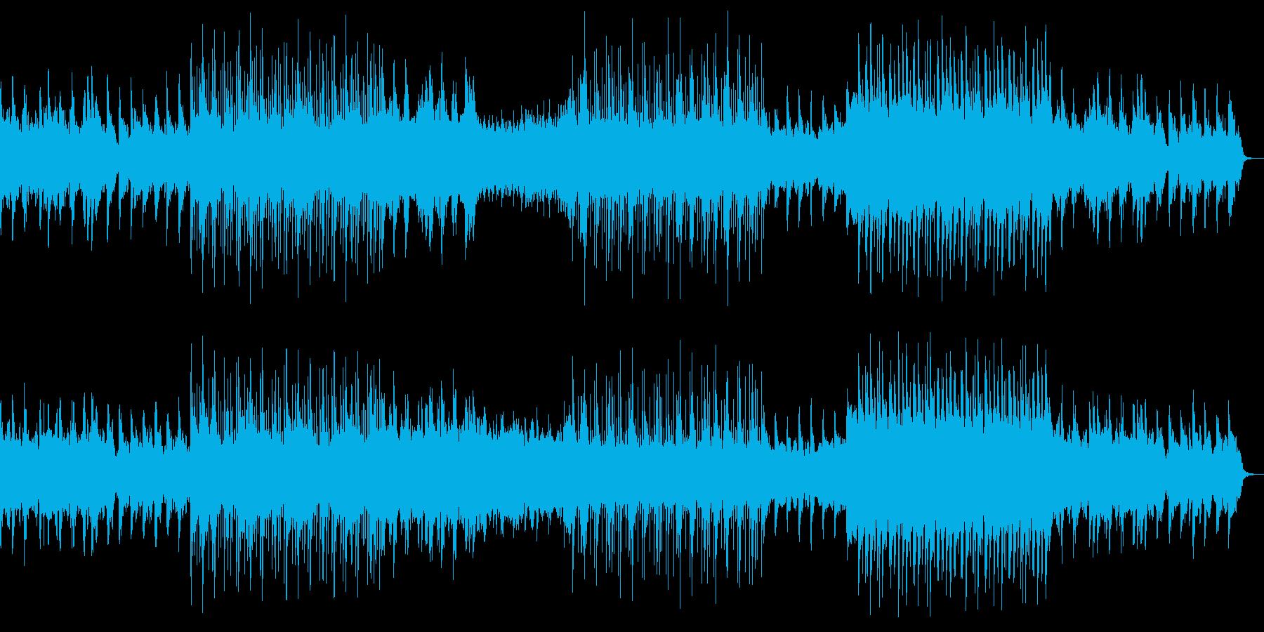 シンフォニックな6/8拍子の再生済みの波形