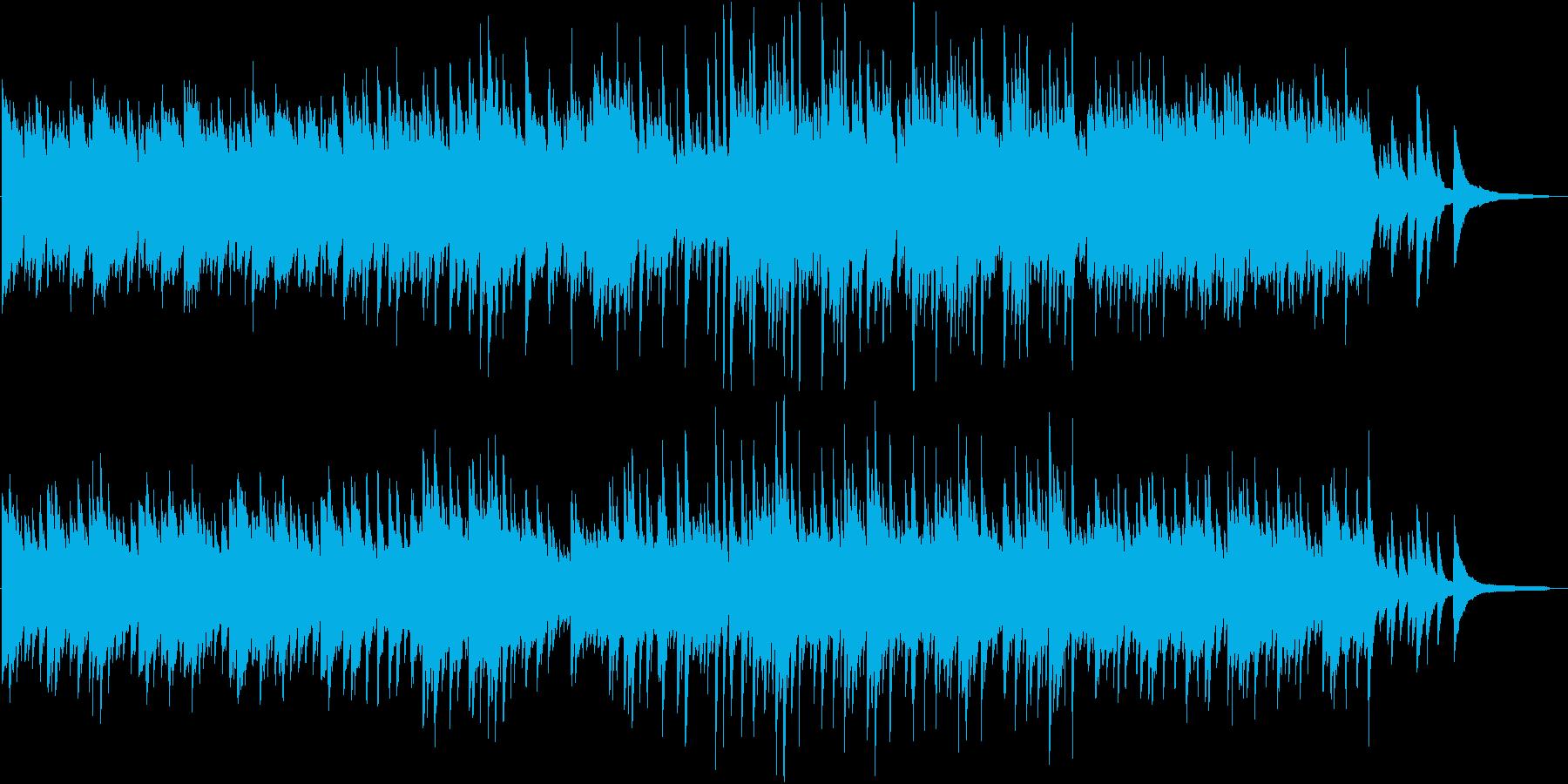 哀愁漂う3拍子のピアノ曲。回想、シリアスの再生済みの波形