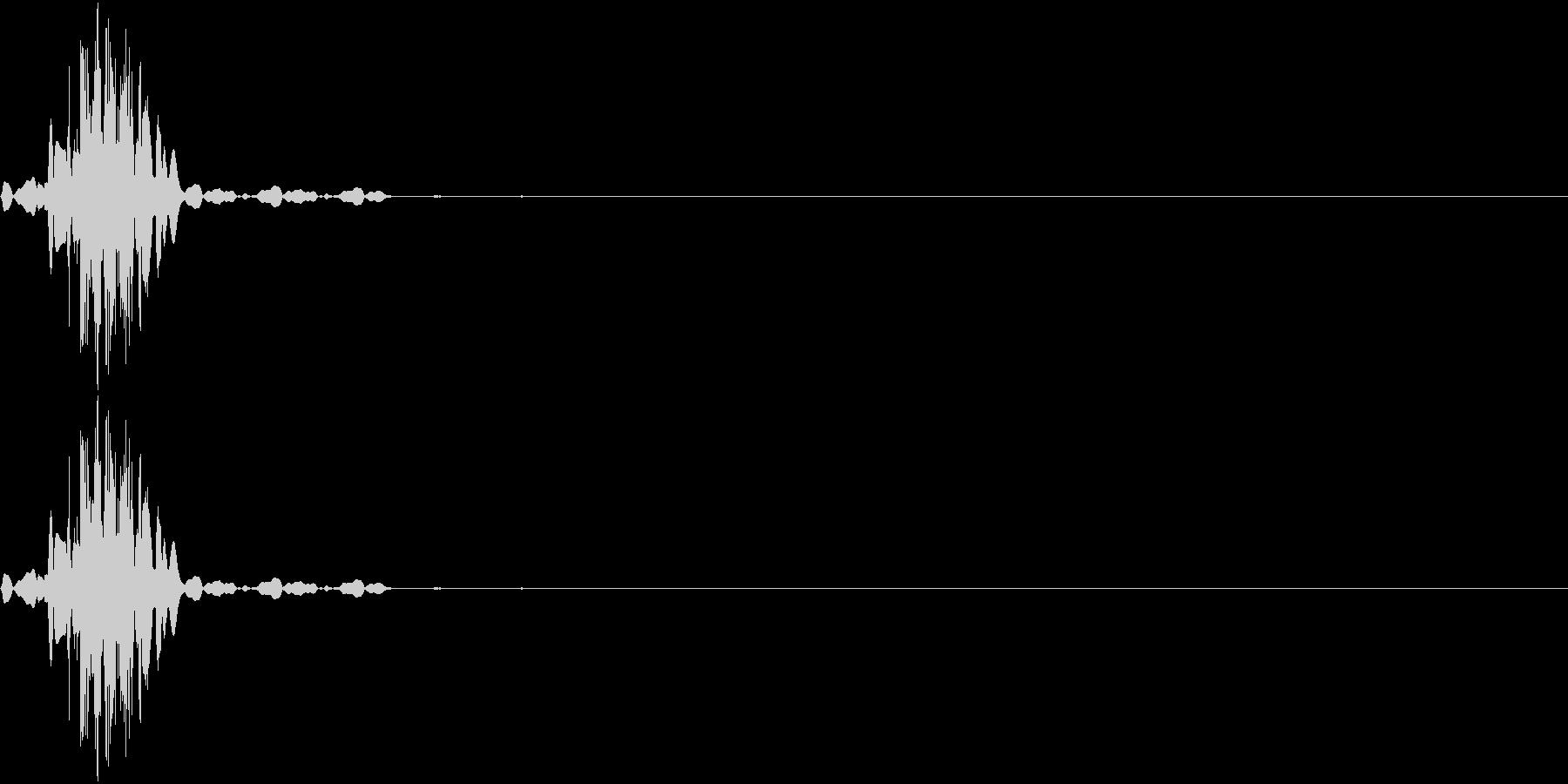 KAKUGE 格闘ゲーム戦闘音 9の未再生の波形