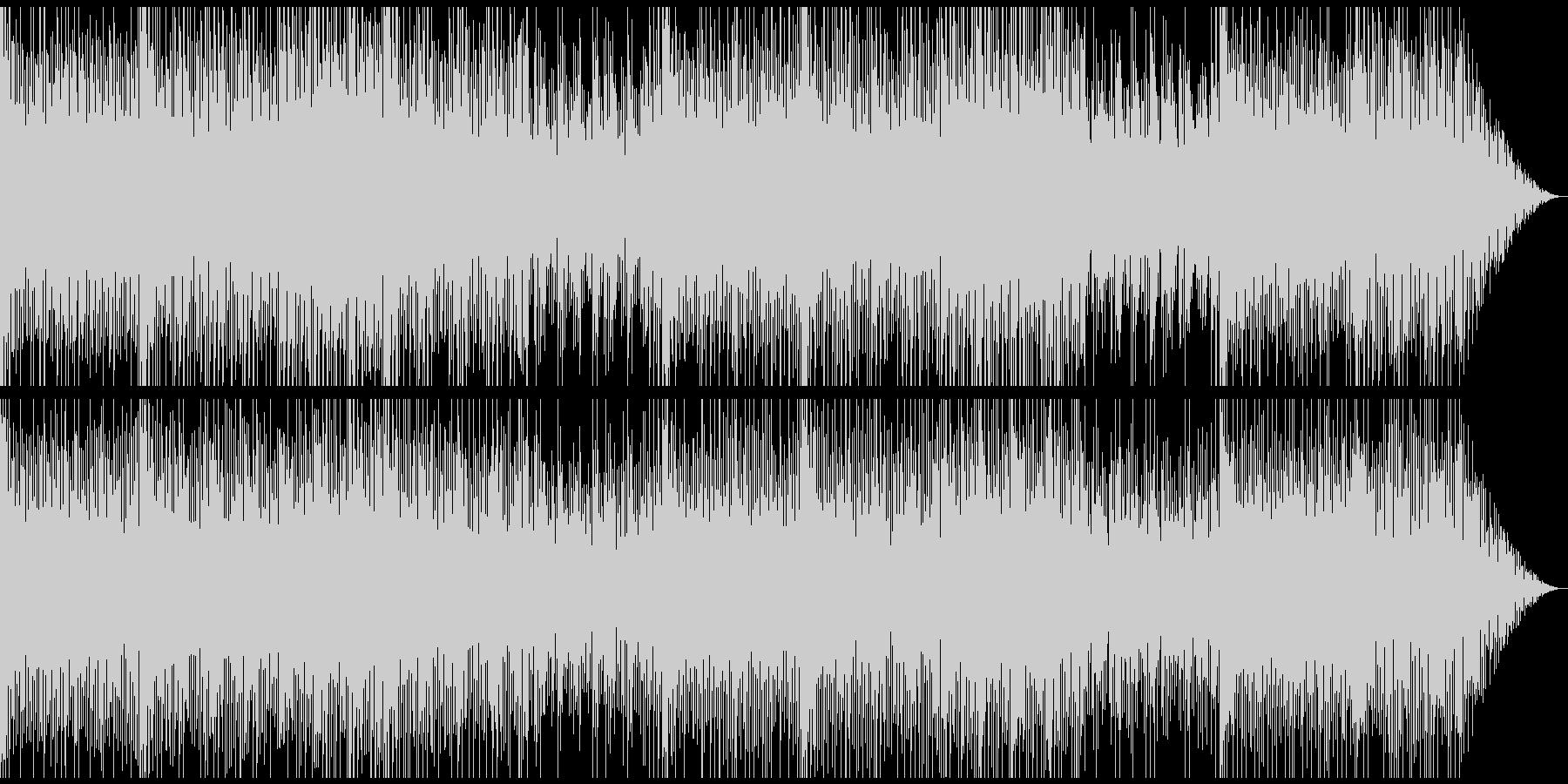 オープニング、トークの背景用BGMの未再生の波形