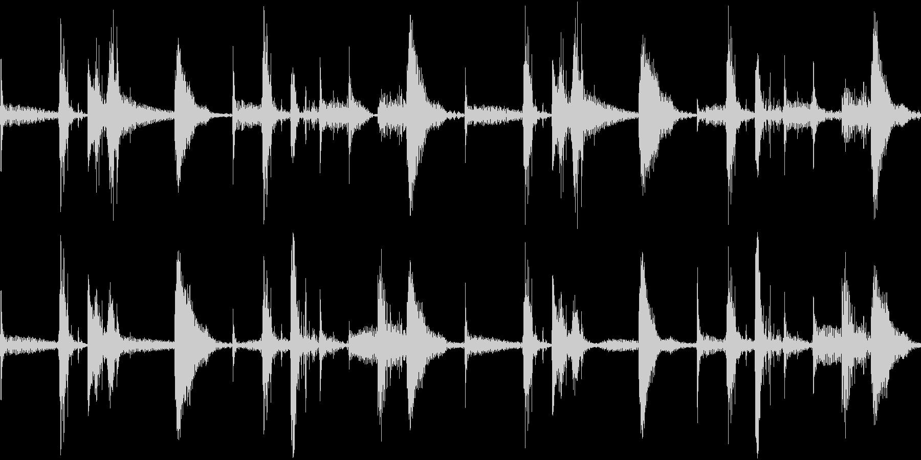 Ethno エスニックなアフリカンビートの未再生の波形
