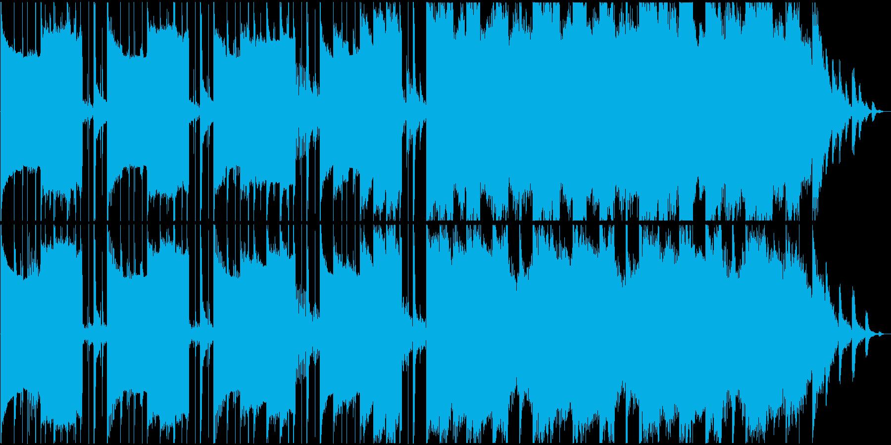 異次元空間に迷い込んだようなBGMの再生済みの波形